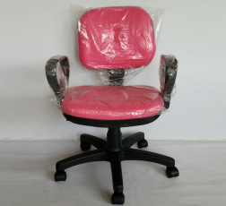 Pembe Sekreter Çalışma Koltuğu klc-200062